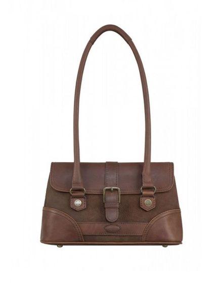 Dubarry Ladies Kenmare Strap Handbag Walnut