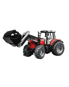Bruder Toy Massey Ferguson 7480 Tractor With Loader