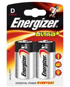 Energizer Ultra Plus D Battery 2 Pack - Cheshire, UK