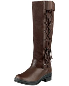 Ariat Ladies Grasmere H2O Country Boots Chocolate