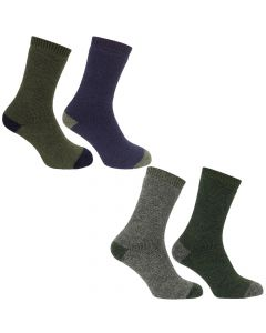 Hoggs of Fife Mens Country Short Socks 2 Pack - Cheshire, UK