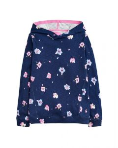 Joules Junior Girls Marlston Hooded Sweatshirt