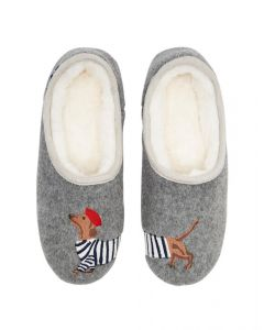 Joules Ladies Slippet Slip On Felt Mule Slippers