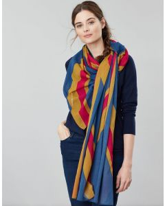 Joules Ladies Gloria 30th Anniversary Union Jack Scarf