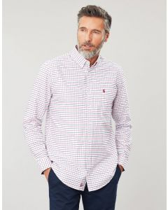 Joules Mens Welford Long Sleeve Classic Fit Check Shirt