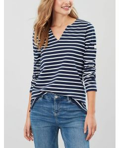 Joules Ladies Harbour Notch Neck Jersey Top