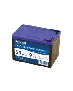 Rutland Electric Fencing 9 Volt Battery 55Ah