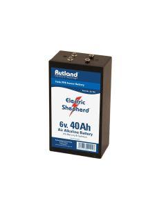 Rutland Electric Fencing 6 Volt Battery 40Ah