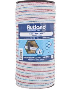 Rutland 20mm Electro-Tape White