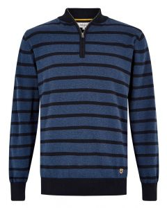 Dubarry Mens Abbeyville Zip Neck Knit Jumper