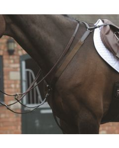 Kincade Elastic Breastplate Brown