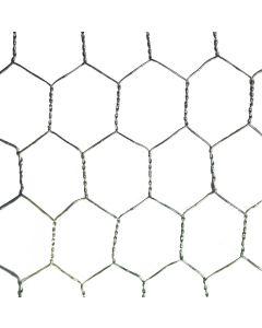 Galvanised Wire Netting 900mm X 25mm 10m