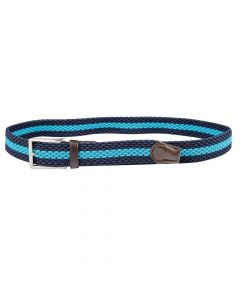 Dublin Ladies Mayfair Belt Navy/Aqua