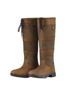 Dublin Ladies River Boots III Country Boots Dark Brown
