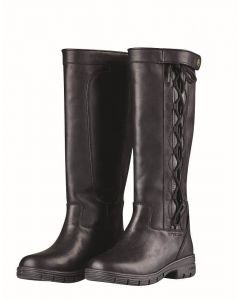 Dublin Ladies Pinnacle Grain II Country Boots Black