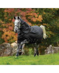 Horseware Amigo Bravo 12 Reflectech Plus Medium Turnout Rug 250g Black