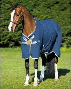 Horseware Rambo Helix Stable Sheet Navy/Silver