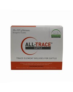 Agrimin All-Trace Element Bolus for Cattle 107g 20 Pack