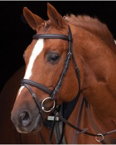 Horseware Amigo Leather Bridle Brown