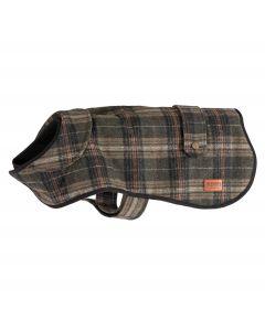 Ancol Heritage Dog Coat Green Check - Chelford Farm Supplies
