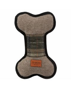 Ancol Heritage Tweed Bone Dog Toy - Chelford Farm Supplies