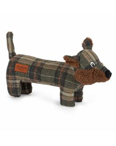 Ancol Heritage Tweed Fox Dog Toy - Chelford Farm Supplies