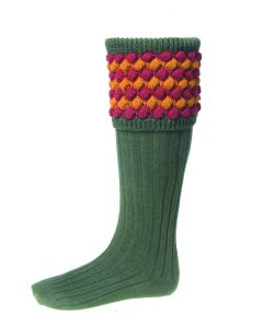 House of Cheviot Mens Angus Spruce Socks