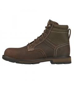"""Ariat Mens Groundbreaker 6"""" H2O Safety Boot Brown"""