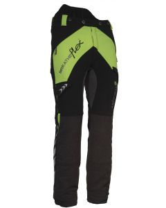 Arbortec Breatheflex Type C Class 1 Chainsaw Trousers Black & Lime