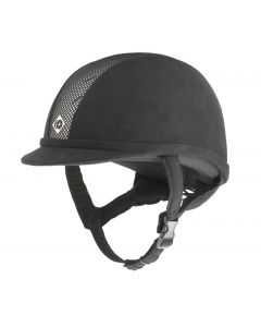 Charles Owen AYR8 Riding Hat Black / Silver