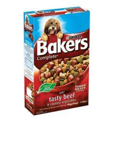 Bakers Complete Beef and Vegetables Dog Food 1.35kg