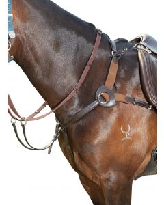 Kincade Leather 5 Point Breastplate Brown