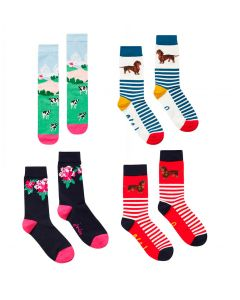 Joules Ladies Brilliant Bamboo Socks