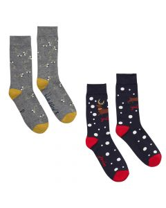 Joules Ladies Brilliant Bamboo Christmas Socks