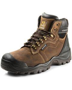Buckler Safety Boot Dark Brown BSH009
