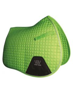 Woof Wear GP Saddle Pad Lime