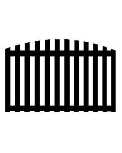 Convex Fence Panel Top