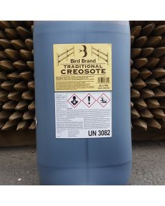 Bird Brand Traditional Creosote 25L Clear Drum