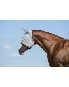 Horseware Amigo Fly Mask Silver/Navy