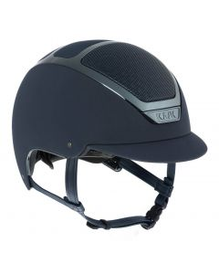 KASK Dogma Chrome Light Riding Helmet Navy