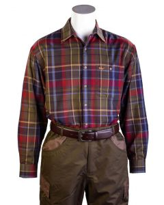 Bonart Mens Dunvegan Fleece Lined Shirt - Cheshire, UK