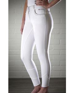 LeMieux Ladies Engage Breeches White/Grey
