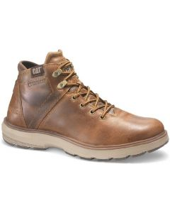 Caterpillar Mens Factor Waterproof TX Boots Brown