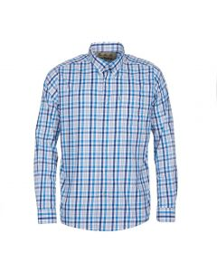 Barbour Mens Fell Performance Shirt Blue