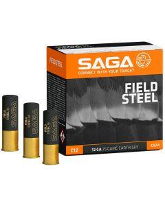 SAGA Field Steel 12 Gauge 34 Gram Fibre Shotgun Cartridge