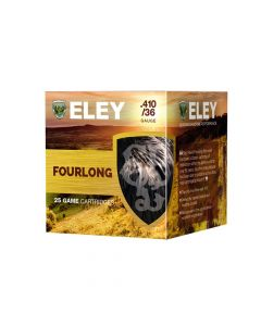 Eley Hawk Fourlong .410 36 Gauge 12.5 Gram Fibre Shotgun Cartridge