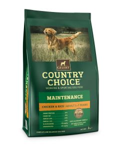 Gelert Country Choice Maintenance Chicken & Rice Dog Food 2kg