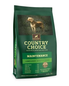 Gelert Country Choice Maintenance Lamb & Rice Dog Food 2kg