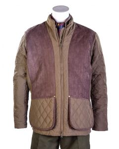 Bonart Mens Girvan Quilted Shooting Jacket