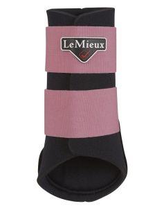 LeMieux Grafter Brushing Boots Blush Pink